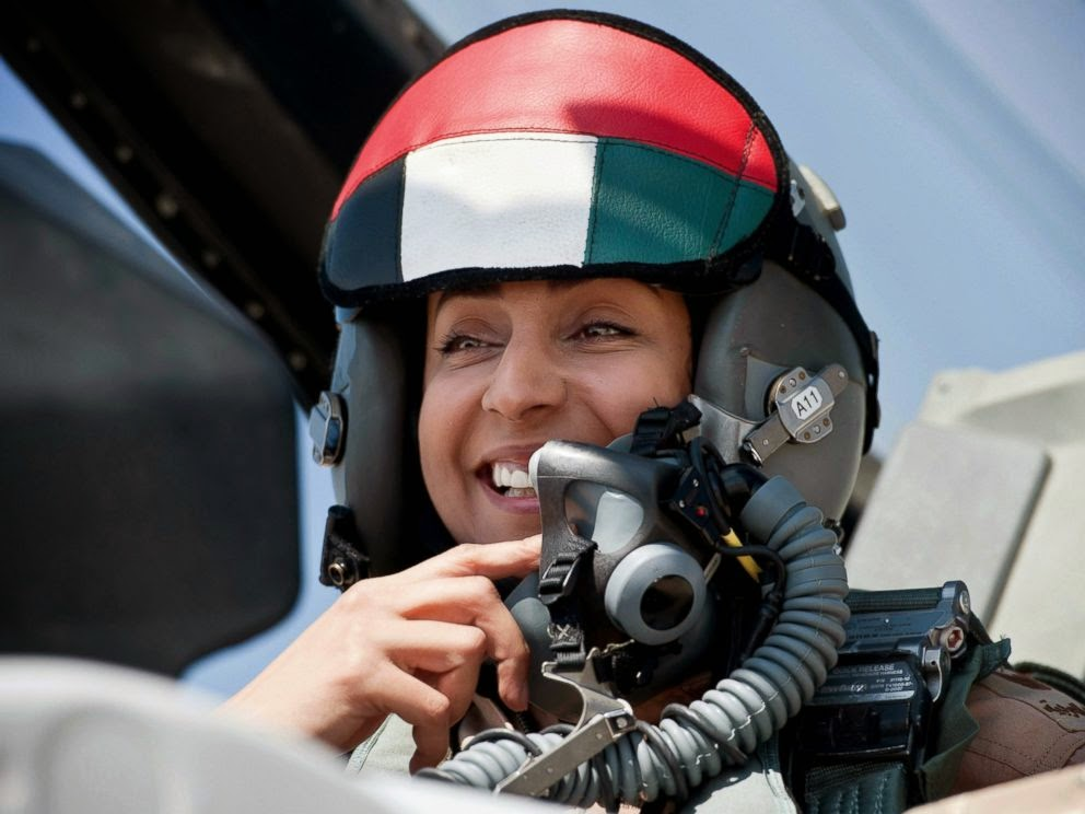 Pilot Perempuan Pembunuh Rakyat Suriah