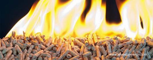 Combustión de biomasa