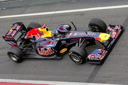Formula 1 2011 Sebastian Vettel/ RBR