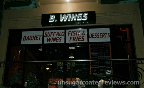 B. Wings signage