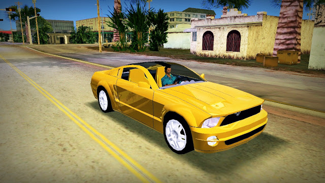 Ford Mustang GT Concept Coupé 2005 GTA Vice City