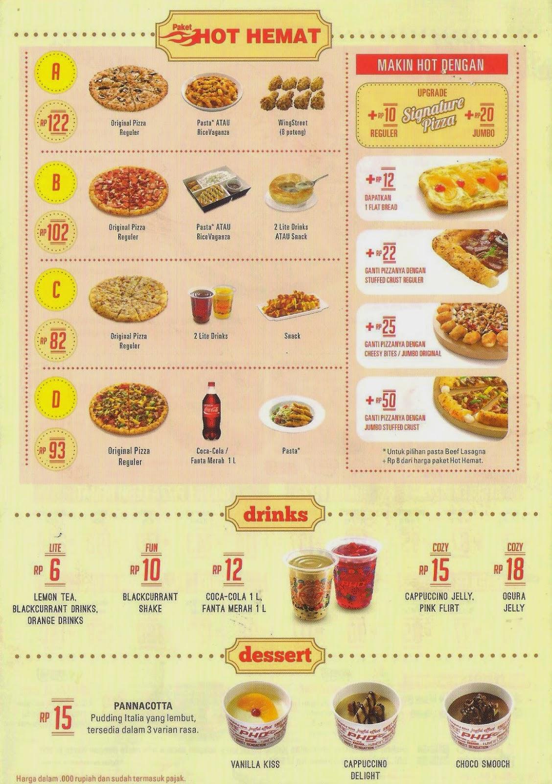 Daftar Menu Pizza Hut | newhairstylesformen2014.com