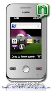 harga ponsel Nexian Touch Series Snap G857