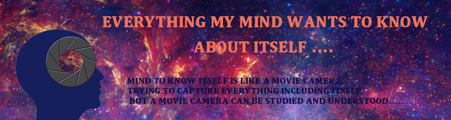 Everything my mind wants to know about itself.....