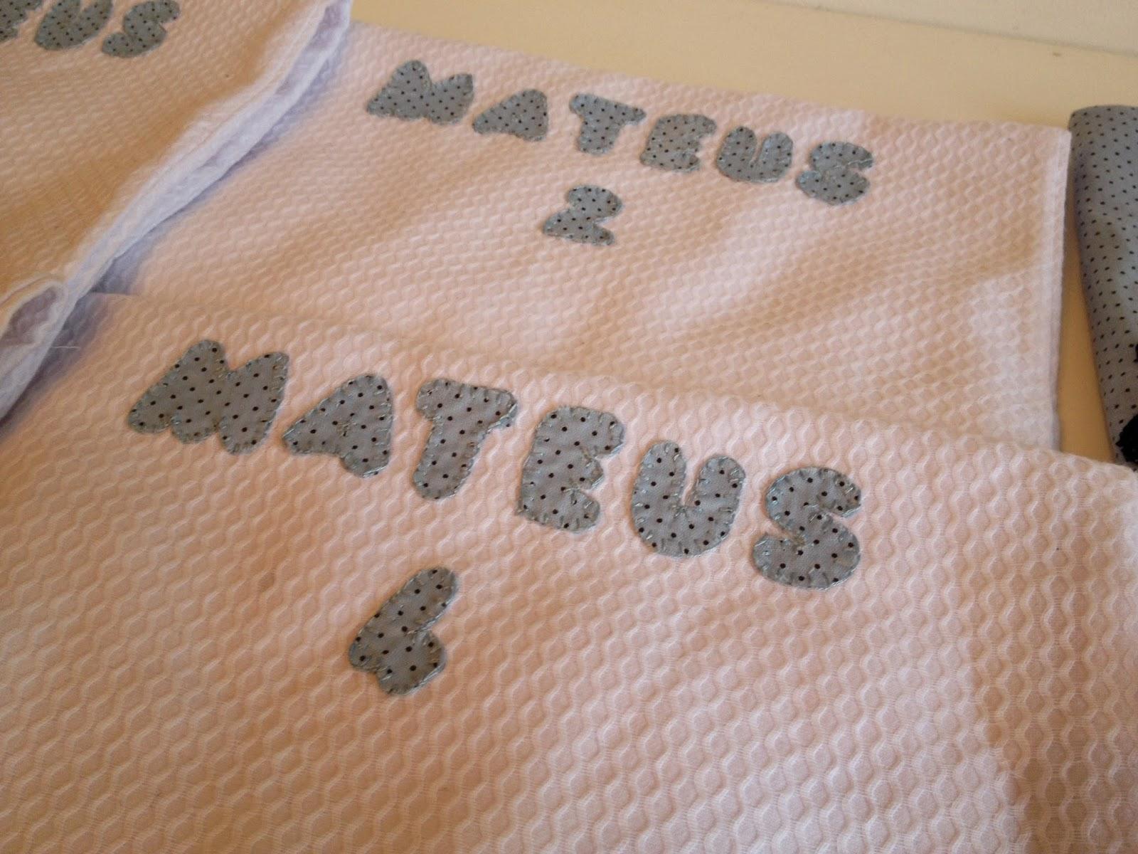 Saquinhos de roupa para maternidade @ateliemadrica