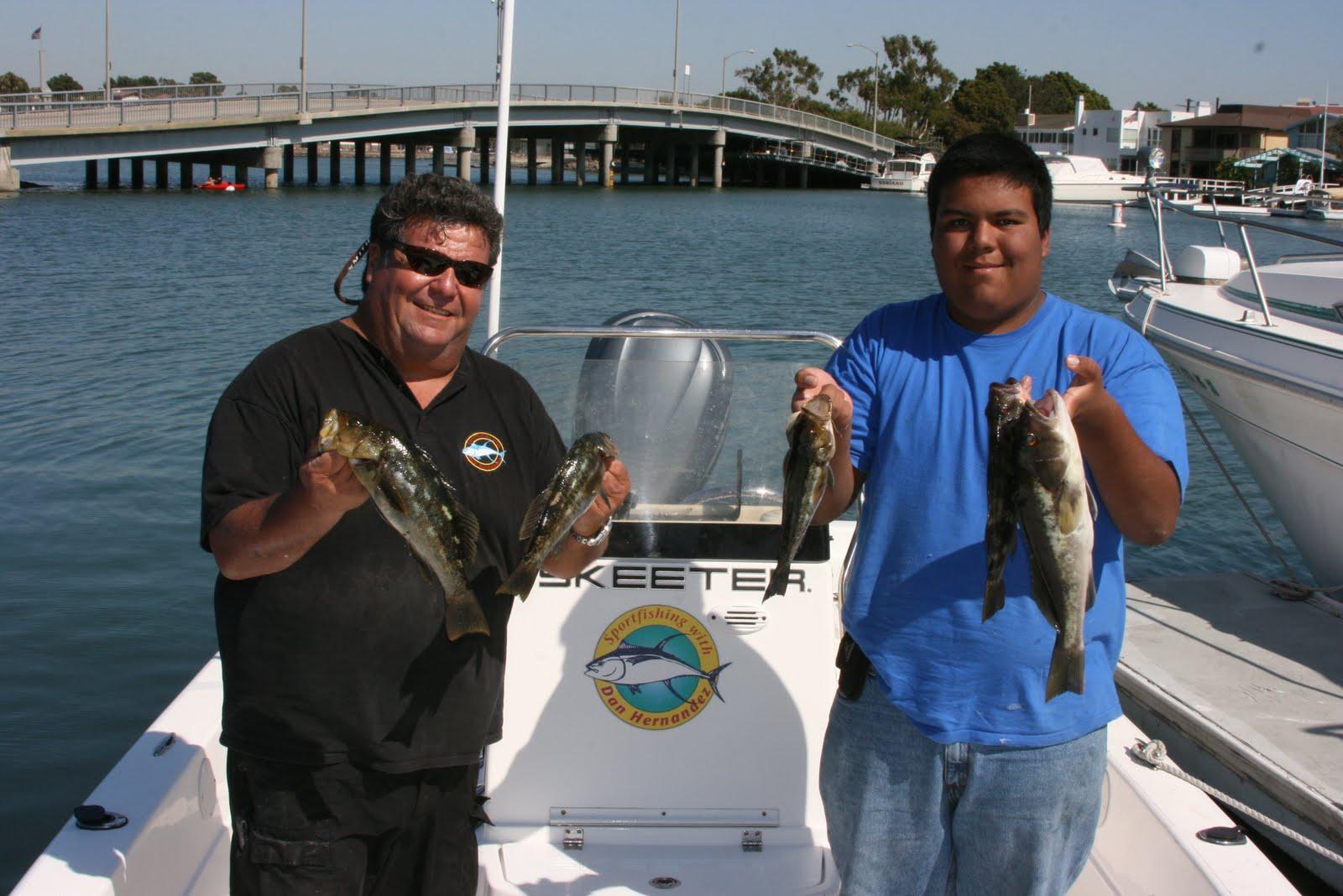 Dan 39 s journal yesterday 39 s private charter fishing report for Sport fishing with dan hernandez