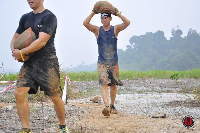 sand bag spartan race malaysia sprint kl