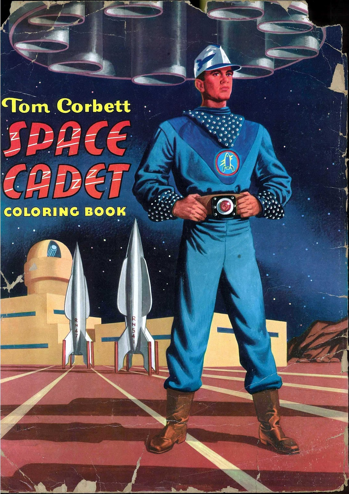 saved from the paper drive  space cadet coloring book