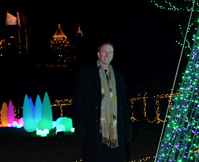 Travis S. Taylor at Garden Lights Holiday Nights, Atlanta Botanical Garden