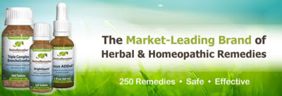The Market-Leading Brand of Herbal & Homeopathic Remedies Over 250 Remedies, Safe & Effective!