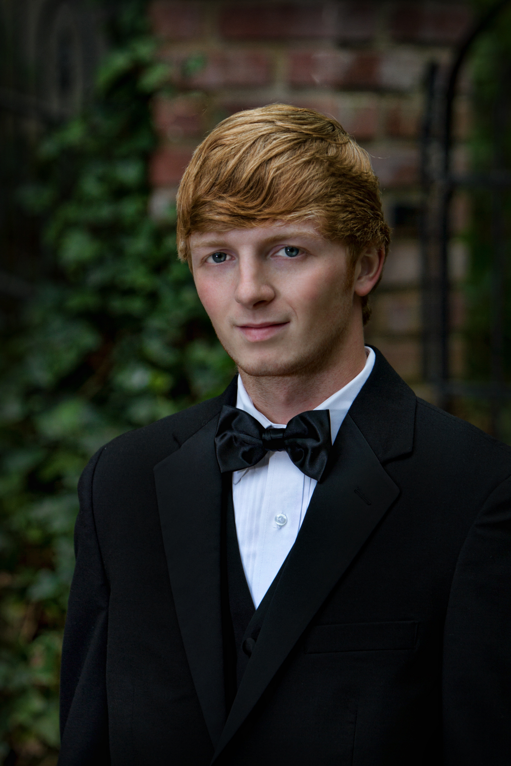 Here is Aaron, a DHS Senior, with a tux, casual and with his truck.