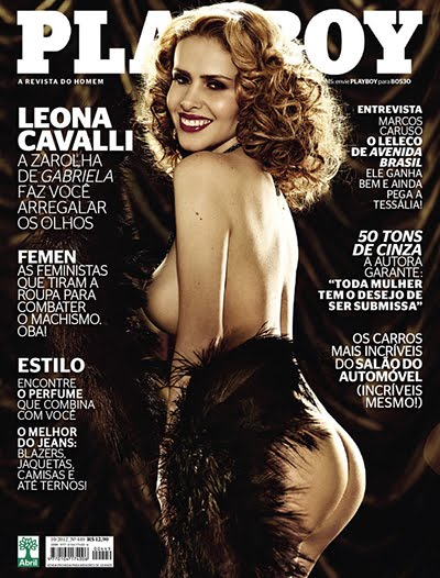 leona cavalli Download   Leona Cavalli   Revista Playboy