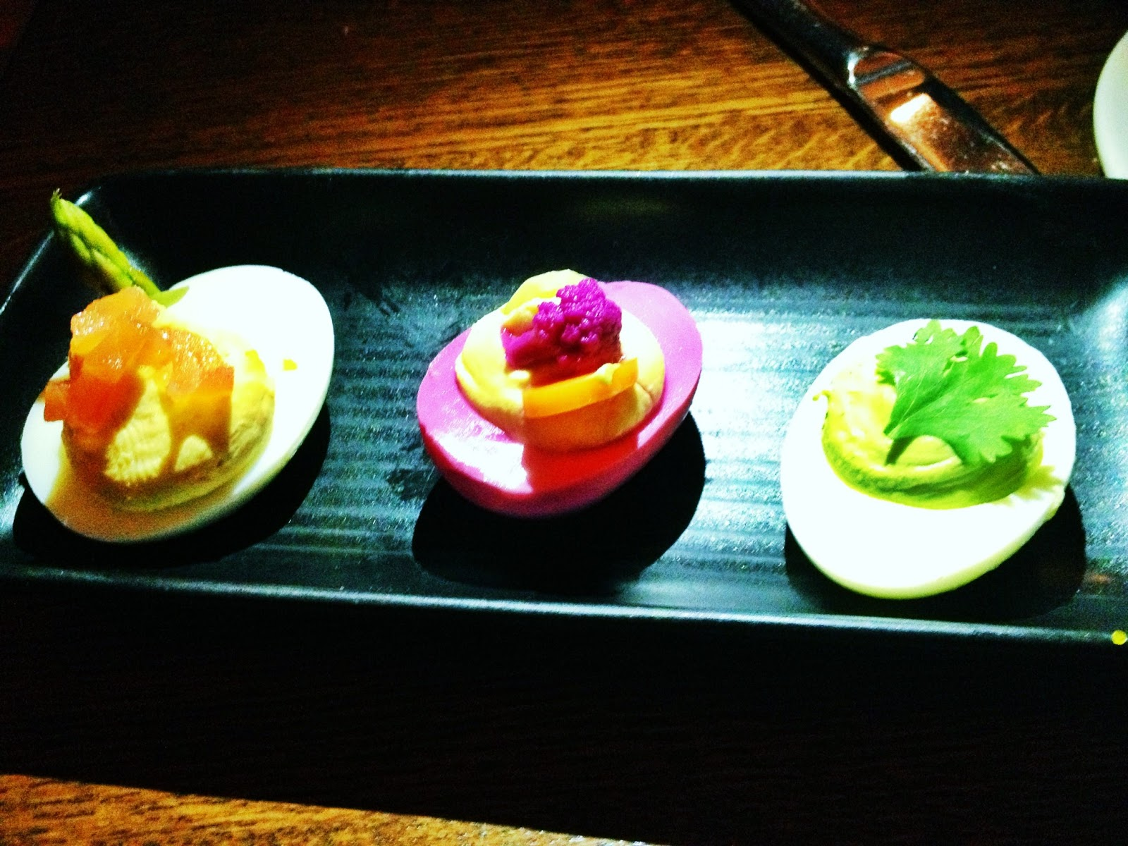 Trio of Deviled Eggs (Small)