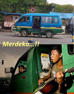 Keunikan Angkutan Umum Indonesia