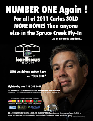 Carlos Bravo Top Real Estate Agent Spruce Creek Fly-In 7FL6