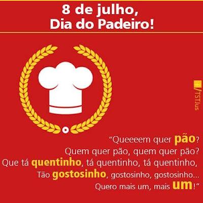 08 DE JULHO - DIA DO PADEIRO