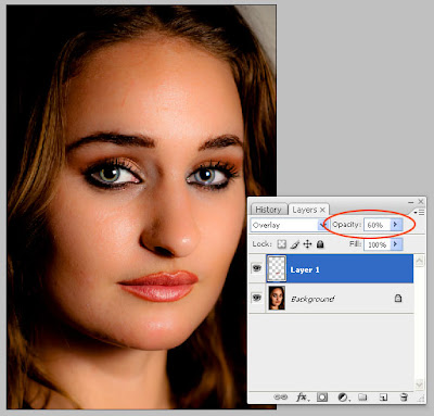 Adding Lip Gloss To a Photograph Using Photoshop