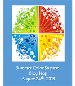 Summer Color Surprise Blog Hop