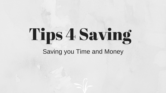 Tips 4 Saving