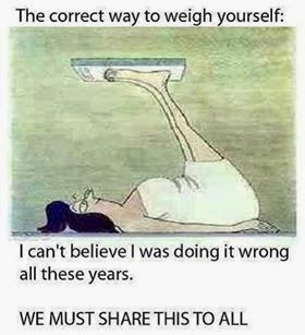 Take The Weight Off Yourself