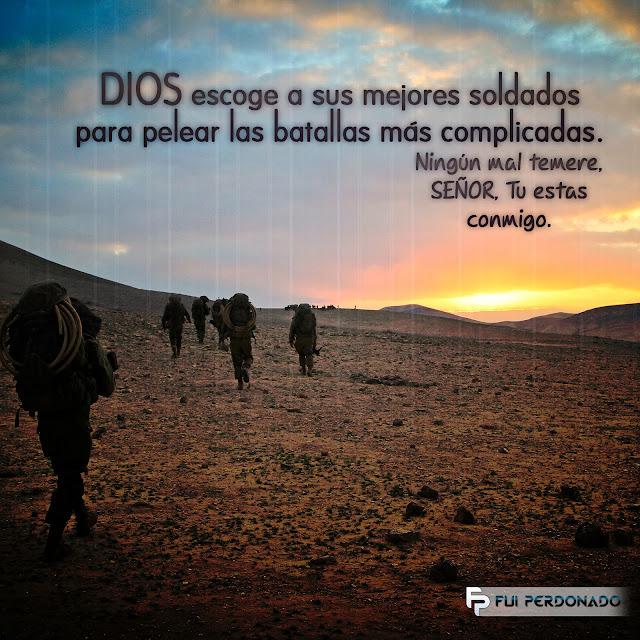 Dios Escoge Sus Mejores Soldados