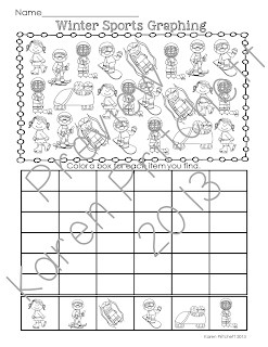 http://www.teacherspayteachers.com/Product/Winter-Sports-Math-graphing-practice-1042770
