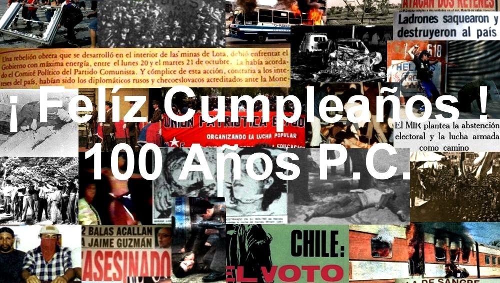 CHILE 100 AÑOS P.C.