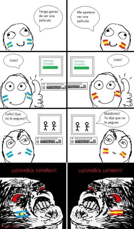 Meme - Español de España o Latino?