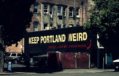 keep portland weird pacific northwest travel photography