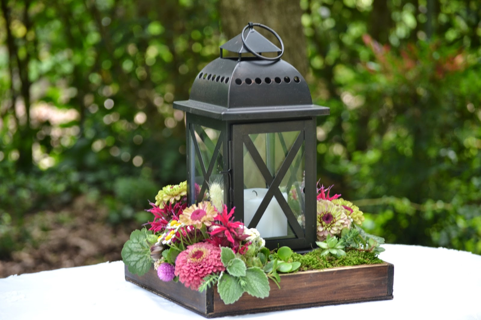 Lantern Center Pieces Wedding Flowers From Springwell Centerpiece Design For All Seasons