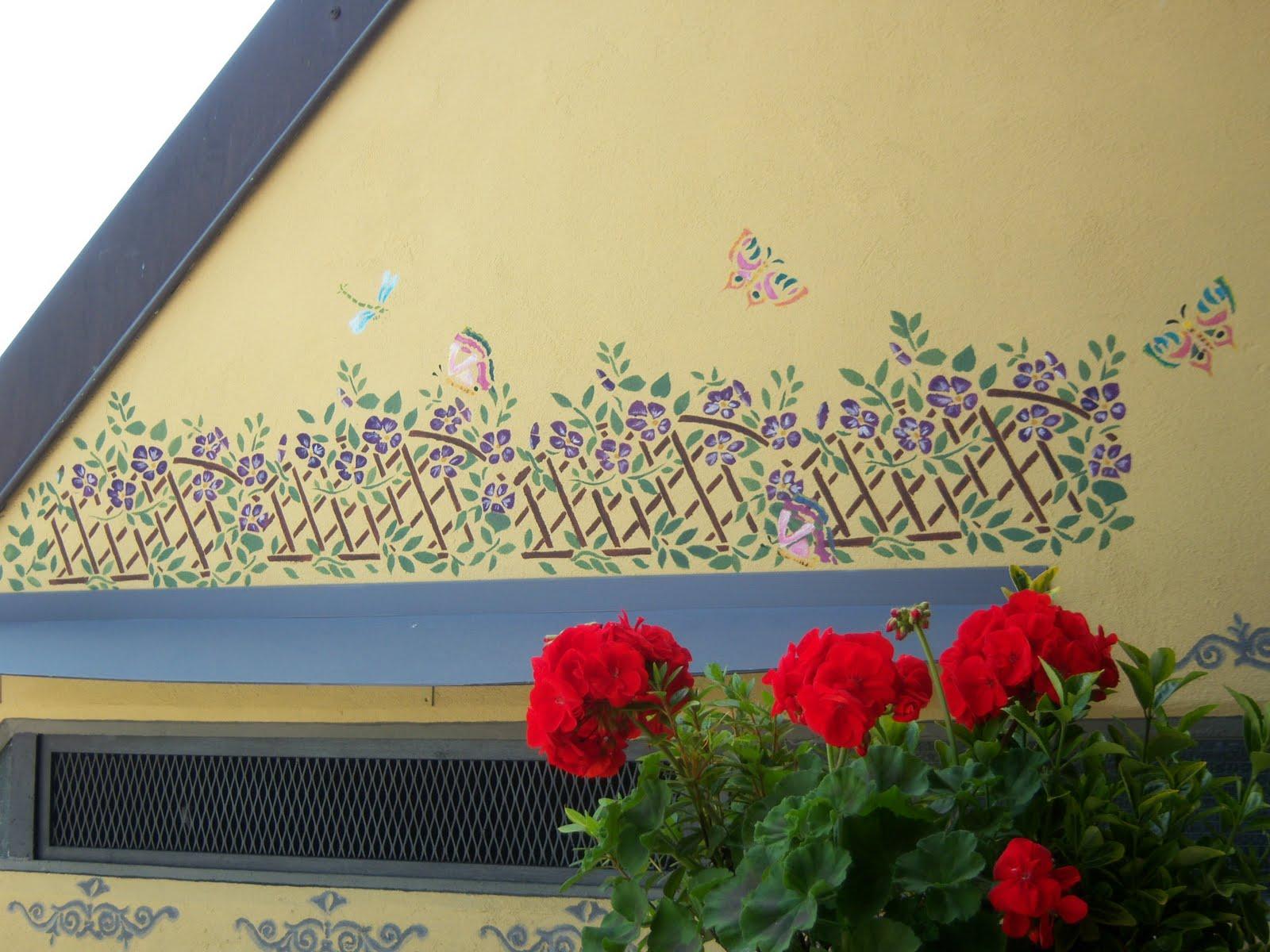 FattodaGio: Stencil su muro esterno