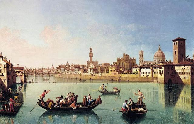 Râul Arno-Florenta, Giuseppe Zocchi