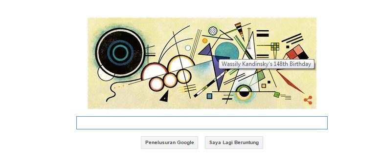 Google Doodle Wassily Kandinsky