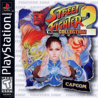 Super Compactado Street Fighter Collection 2 PS1