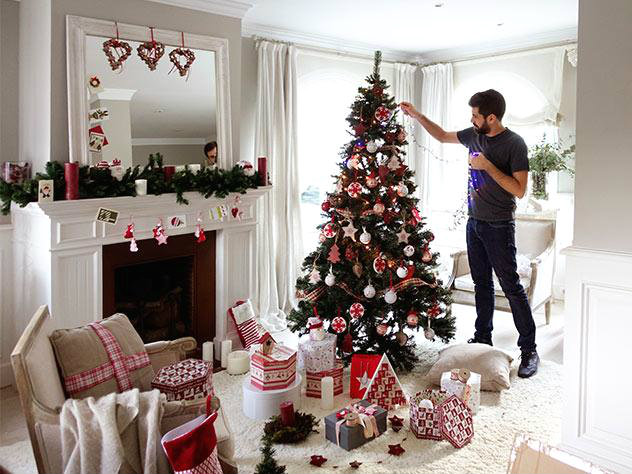 Viendo adornos ideas inspiraciones para navidad Todo con las