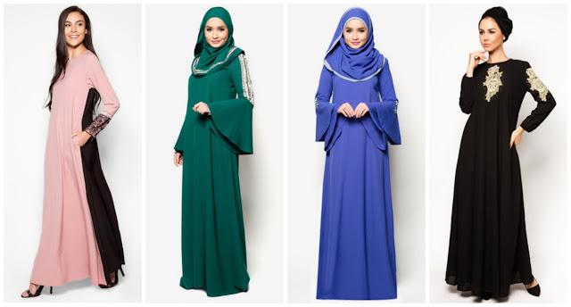Trend Baju Raya 2015 - Jubah Terkini - ANNUR SYUHADAH