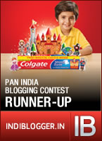 Indiblogger VLOG Contest Runner Up