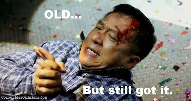 Jackie Chan breaks fingers injured in Police Story 2013 still