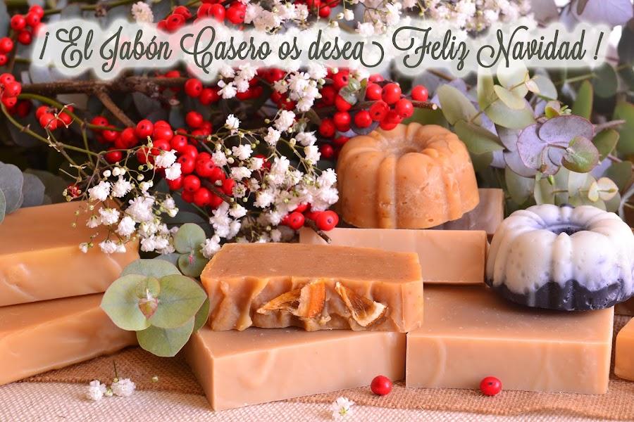 el jabon casero feliz navidad