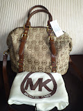 MICHAEL KORS BEDFORD MEDIUM SATCHEL MOCHA