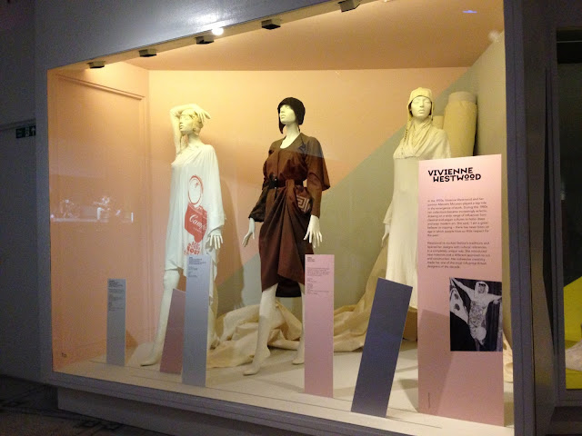 V&A Museum Club to Catwalk Exhibition 2013 London Fashion 1980s Vivienne Westwood