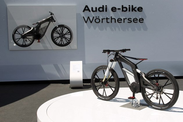 audi e bike concept review igadgetware get social media. Black Bedroom Furniture Sets. Home Design Ideas