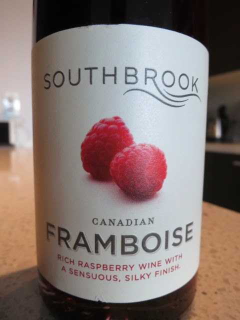 Wine Label of Southbrook Framboise from Ontario, Canada