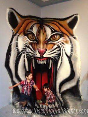 3d art tiger