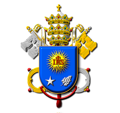 Pope Francis Coat Of Arms Coloring Page