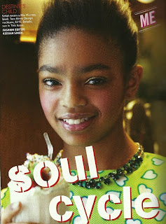 selah >Selah Marley fille de Lauryn Hill pour Teen Vogue