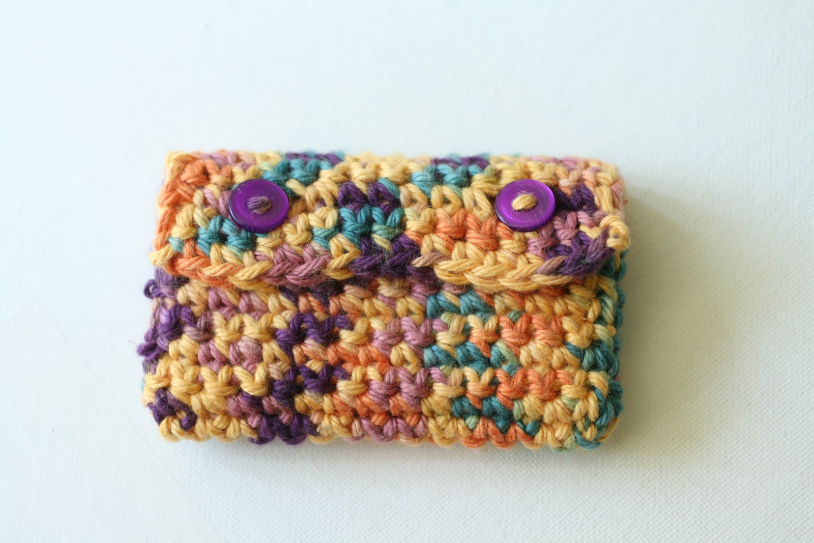 Sugar and stitches crocheted business card holder free pattern and there you have it reheart Choice Image