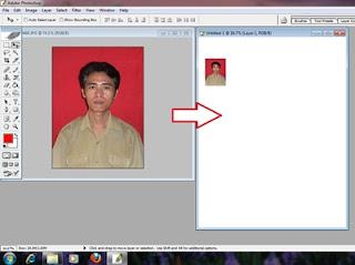 membuat foto ukuran 3x4 dengan spftware photoshop