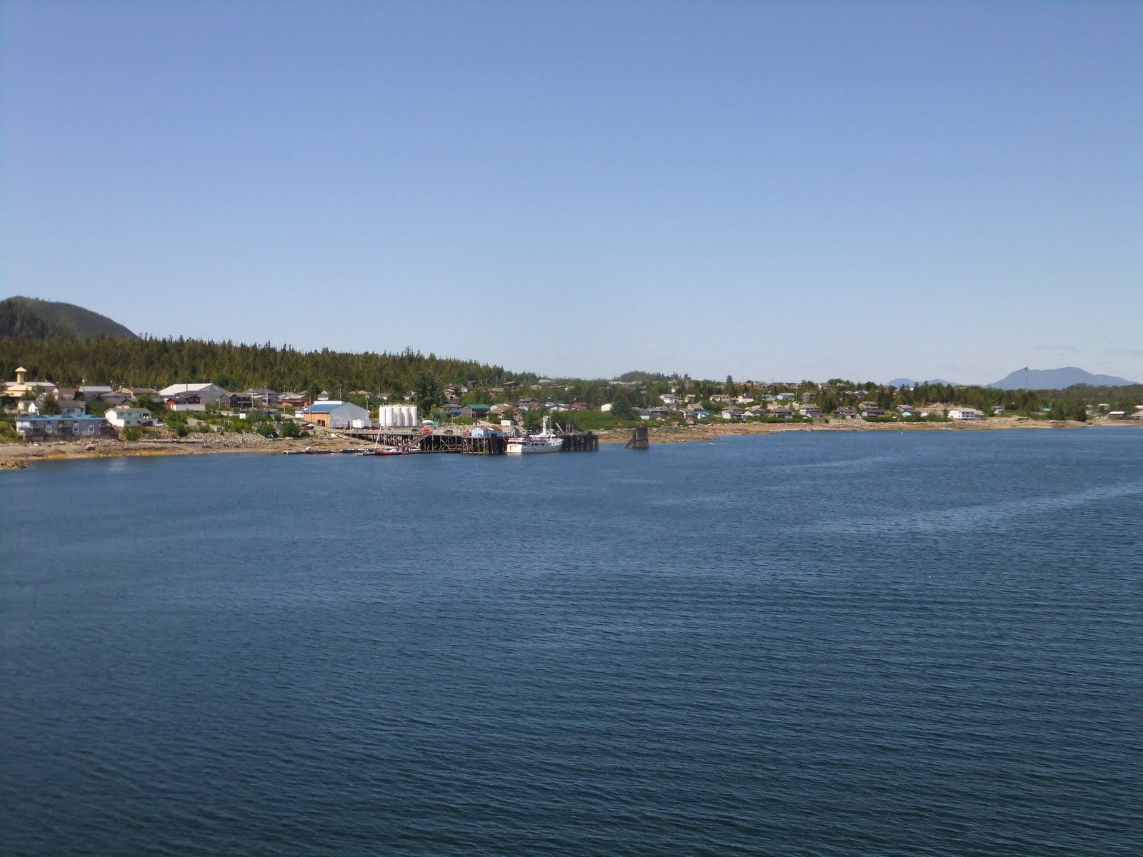 Bellingham to prince rupert ferry
