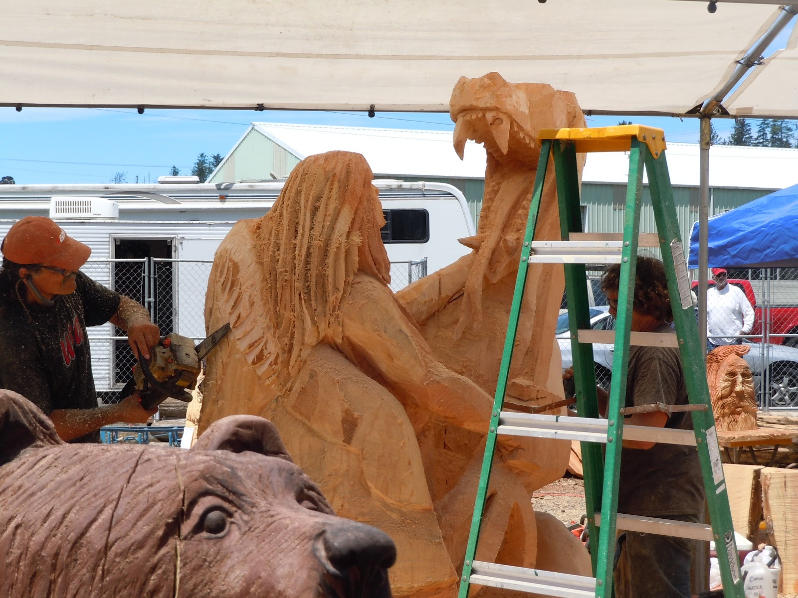 More of mom s special moments pro chainsaw carving